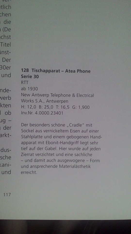 0046898-NEUF Rev ritter funk sonnette palpeur tenue d/'apparat réf